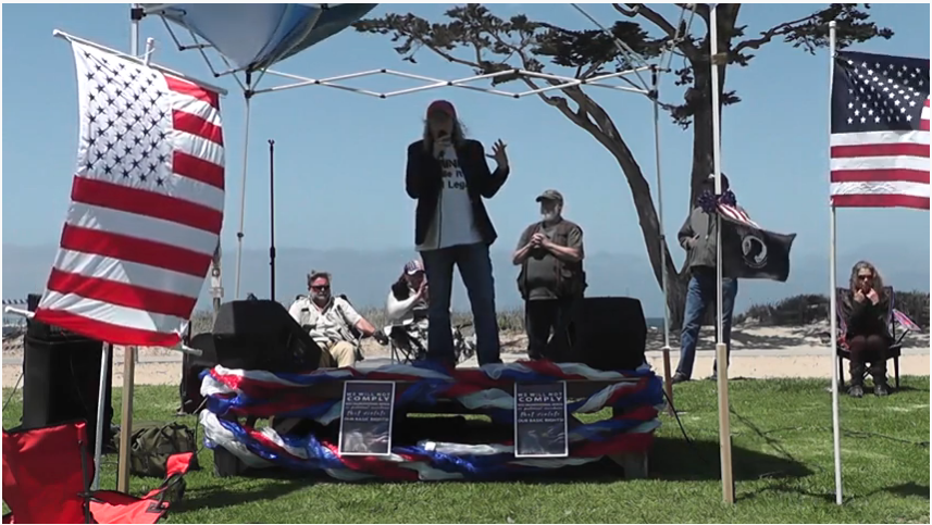 Dr. Judy Mikovits speech May 30th 2021 Video 3 of 5, Window to the Bay Park, Monterey California, May 30th, 2021