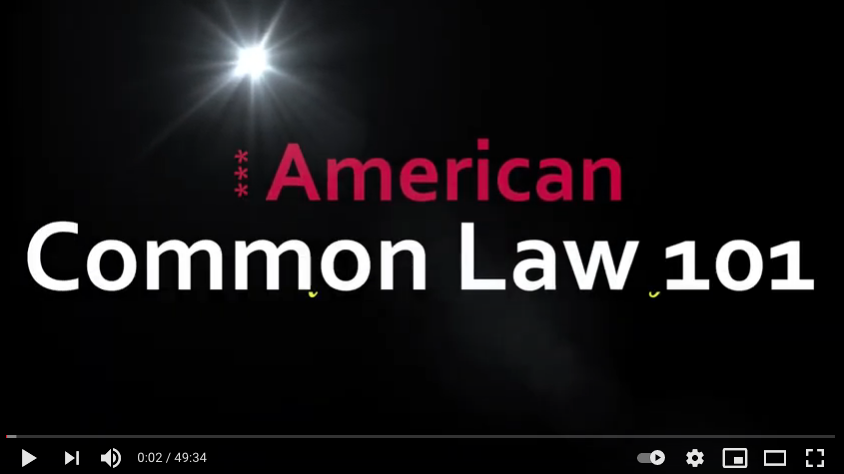 Common Law 101, by: Michelle Ford